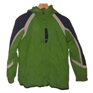 L.L.Bean Winter Ski Coat W/Interchange Fleece 2in1